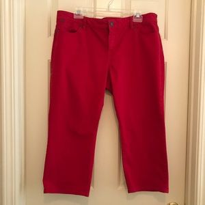 Talbots Signature Crop Flare Pants 16P/33